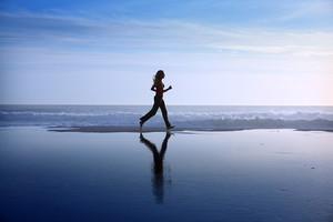 In meinen Gedanken laufe ich meist am Strand der Nordseeinsel Amrum