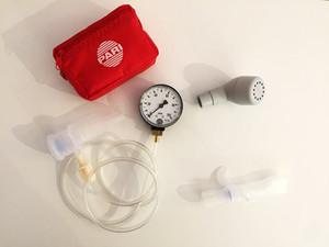 PEP Systeme sind Atemhilfen, die einen Widerstand bei der Ausatmung erzeugen