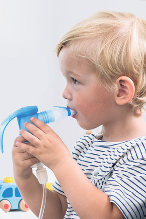 Children don't always accept the inhalation therapy and sometimes refuse to do it