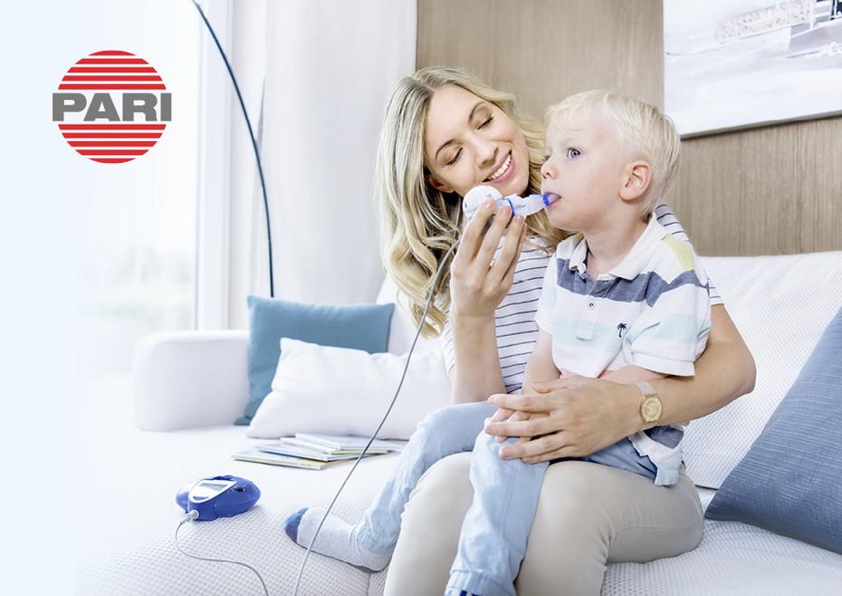 Ein starker Begleiter für Mukoviszidose-Patienten – das eFlow®rapid Inhalationssystem von PARI