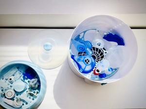 PARI Vernebler, Nasendusche, Inhalierhilfe und andere Atemtherapiegeräte lassen sich per Vaporisieren oder Auskochen wirksam und sicher von Viren und Bakterien befreien
