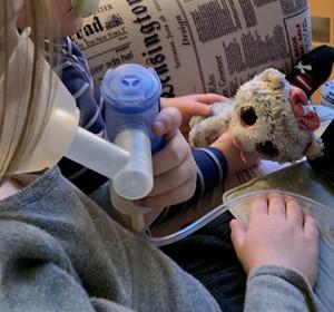 Kinder zur Inhalation motivieren