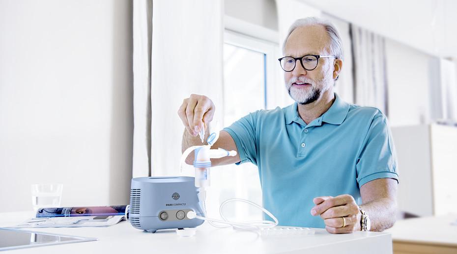 Salzinhalation schützt unsere Atemwege vor viralen Infekten