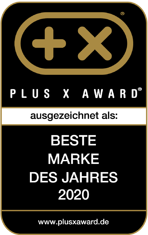 Beste Marke - PLUS X AWARD