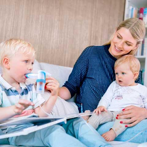Aerosoltherapie bei Kindern kompakt & praxisnah – Worauf kommt es an?