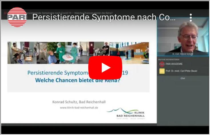 Persistierende Symptome nach Covid-19 – Welche Chancen bietet die Reha?