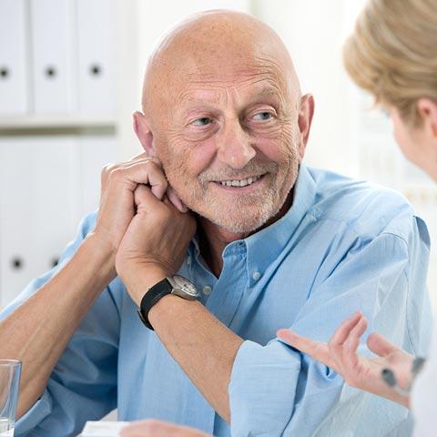 Die Lebensqualität erhöhen - Auch bei chronischer Bronchitis.