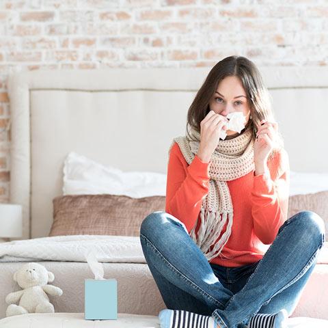 Husten, Schnupfen, Heiserkeit – die klassischen Symptome
