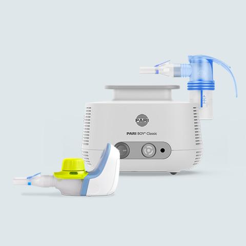 Erreichen Sie das Beste für Ihre Gesundheit mit PARI Inhalationsgeräten