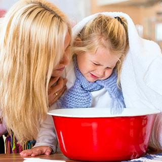 Warum die Dampfinhalation oder Kochtopfinhalation wirkungslos ist