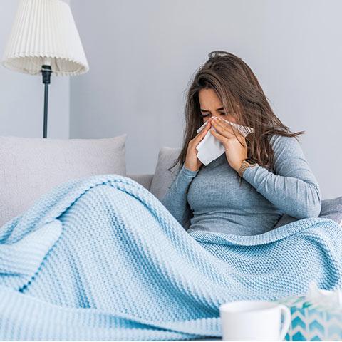Erkältung – ein häufiger Auslöser