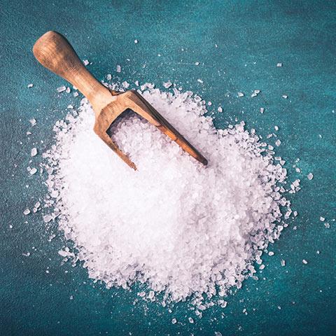 Welche Salzlösung verwenden