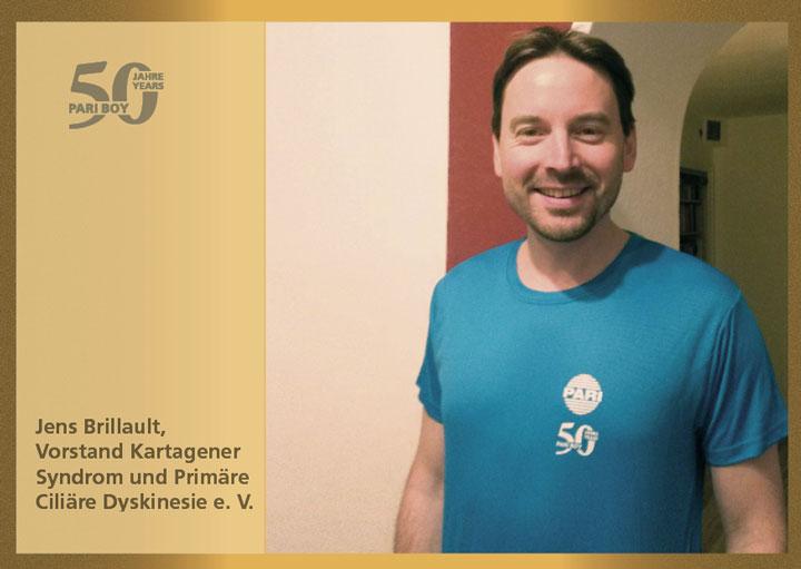Jens Brillault – Vorstand des PCD Verein