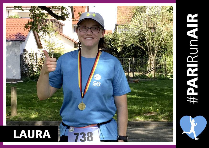 Laura aus dem Team der PARI RunAIR