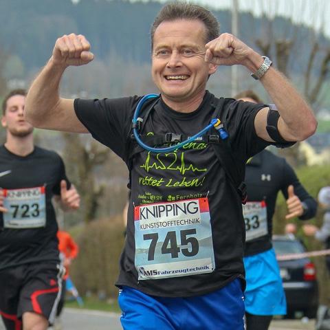 Rainer Heske begann nach der Reha direkt mit Sport - mit Erfolg