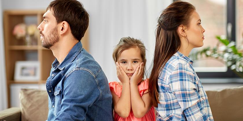 Muss ein Kind täglich inhalieren, entstehen oft Konflikte in der Familie