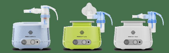 PARI Produktberater für Inhalationsgeräte