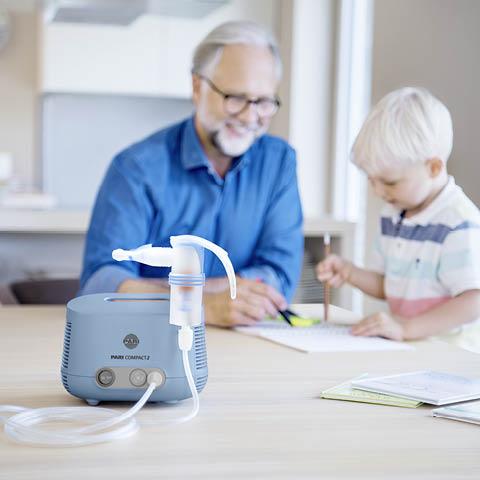 PARI Inhalationsgeräte zur Behandlung der Lunge
