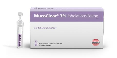PARI MucoClear 3% Inhalationslösung