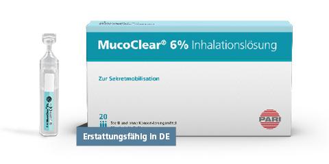 PARI MucoClear 6% Inhalationslösung