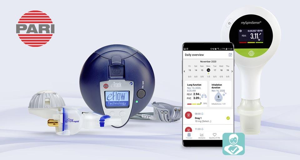 PARI und TWT Digital Health stellen PARI Connect App vor