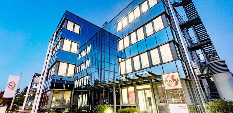 PARI Pharma laboratory architecture Graefelfing