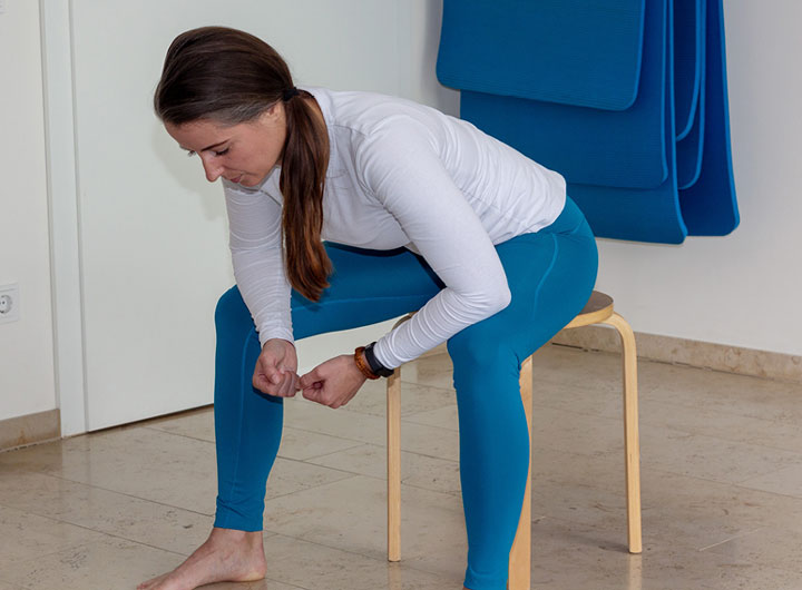 Exercise 4 – Sitting tripod position