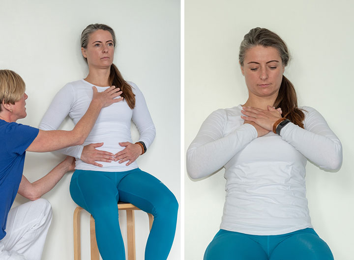 Exercise 6-1 – Contact breathing for shortness of breath accompanied by panic