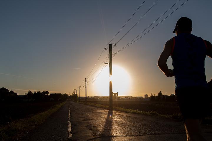 """Running also helped me get through the coronavirus lockdown"", says René"