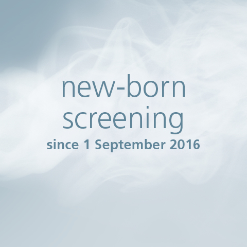 Screening in new-born infants