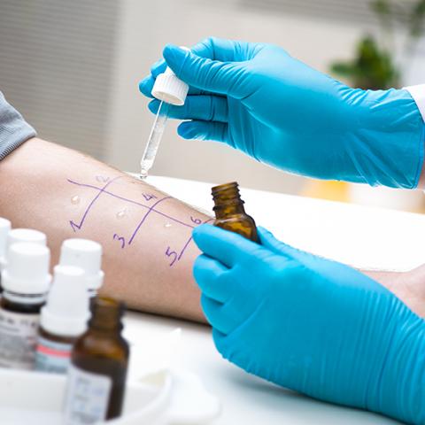 Clarification through rhinoscopy and allergy tests