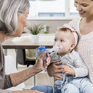 How to use a nebuliser correctly with babies, toddlers and children
