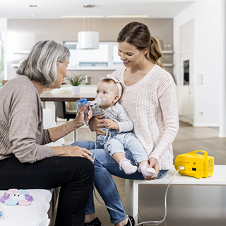 Using nebulisers with children