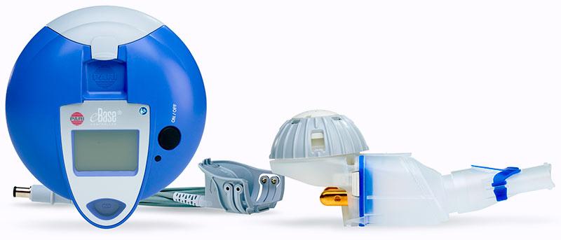 Figure 1: The eFlow Technology nebulizer – a vibrating membrane nebulizer