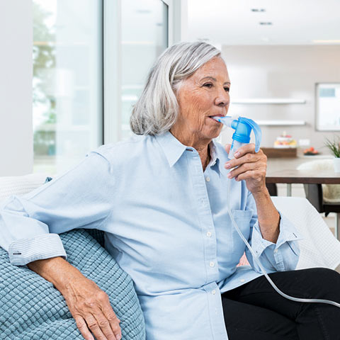 Advantages of nebuliser therapy