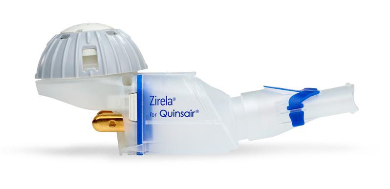 eFlow Partnering Handset – Zirela for Quinsair
